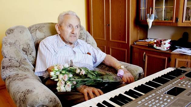 Stanislav Habart oslavil své kulatiny se svými nejbližšími.