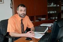 PAVEL ČERNÝ je ředitelem 3. základní školy v Chebu už tři roky.