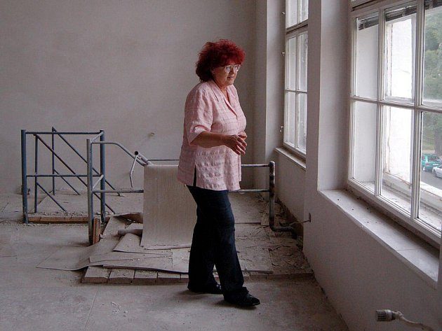 Rekonstrukce chebské městské knihovny