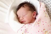 LUCIE KVASNIČKOVÁ bude mít v rodném listě datum narození čtvrtek 11. září v 10.45 hodin. Při narození vážila 3 190 gramů a měřila 49 centimetrů. Z malé Lucinky se radují doma v Aši sestřičky Terezka s Nikolkou, maminka Jaroslava a tatínek Ruda.