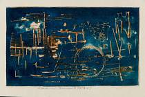 V Opus magnum pak začne výstava Aktivní grafiky Vladimíra Boudníka. Právě aktivní grafika byla prvním a největším objevem Vladimíra Boudníka (1924-1968) na poli grafických technik. Dospěl k němu na podzim 1955 díky své práci v továrně.
