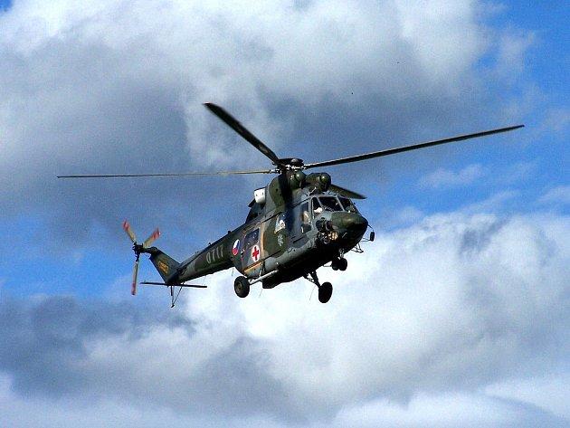 Armádní záchranářský vrtulník W-3A Sokol