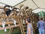 Trofeje na Kladské obdivovaly stovky návštěvníků.