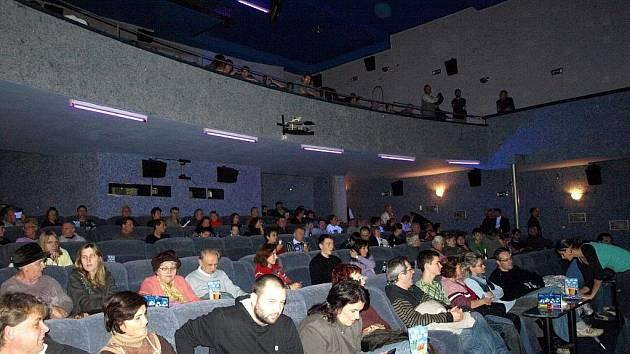 Kino Svět v Chebu.