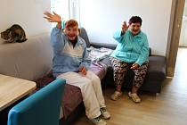 Lidé s postižením z Domova PATA v Hazlově se přestěhovali do nových, moderně vybavených domů.