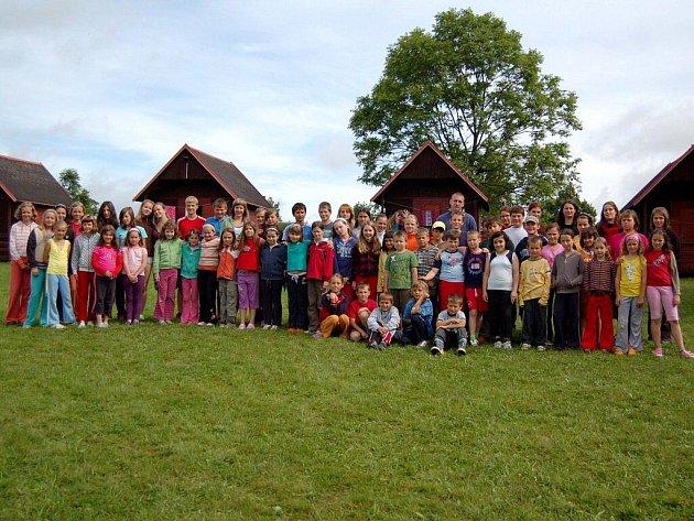 V domě dětí a mládeže Reneta v Žirovicích se koná letní dětský tábor