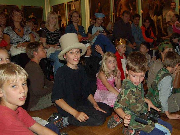 V chebském muzeu se děti nenidí a rády se  sem vracejí.