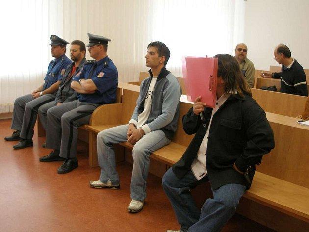 Jednání u Okresního soudu v Chebu
