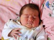 VALÉRIE POLŤÁKOVÁ bude mít v rodném listu datum narození pátek 8. dubna v 12.53 hodin. Na svět přišla s váhou 3 250 gramů a mírou 49 gramů. Doma v Aši se z malé Valinky těší sestřičky Patricie a Amálka, maminka Iveta a tatínek Miroslav.