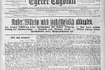 Nejen tisk, ale i zdejší obyvatelé vznik samostatného Československa nevítali snadšením. Bydlelo zde převážně německé obyvatelstvo.
