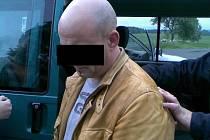 Němec zadržený cizineckou policií při kontrole na Chebsku