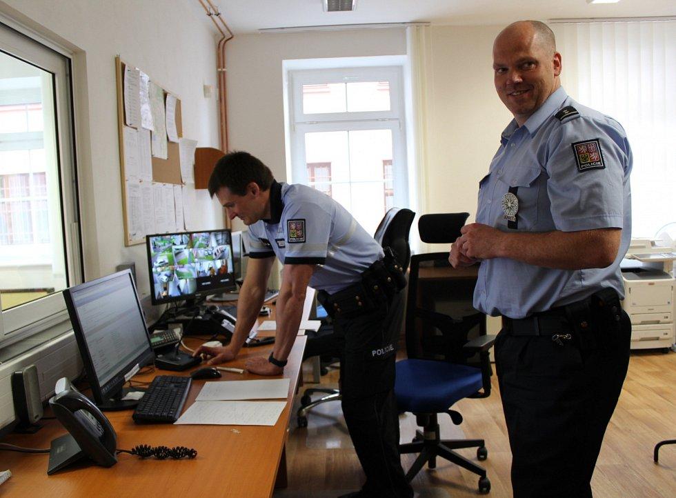 Stará budova v Aši už nevyhovovala. Policisté se přestěhovali.