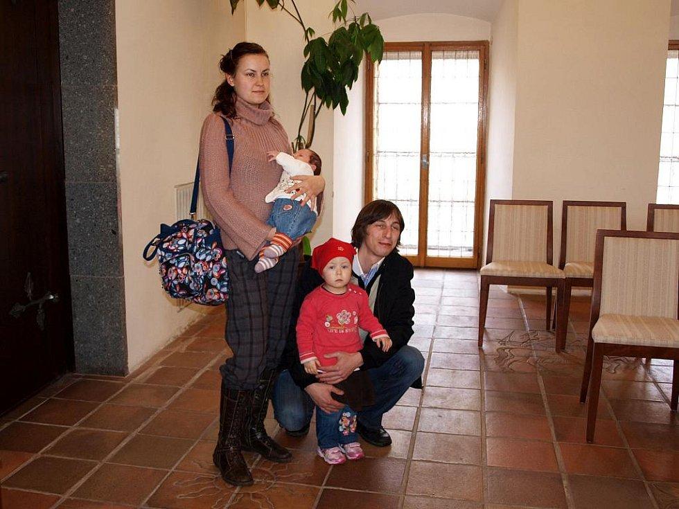 Vítání chebských občánků.