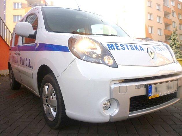 Auto Městské policie Cheb.