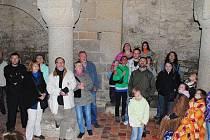 Letošní Muzejní noc byla rozdělena do dvou částí, odehrávala se i na Chebském hradě