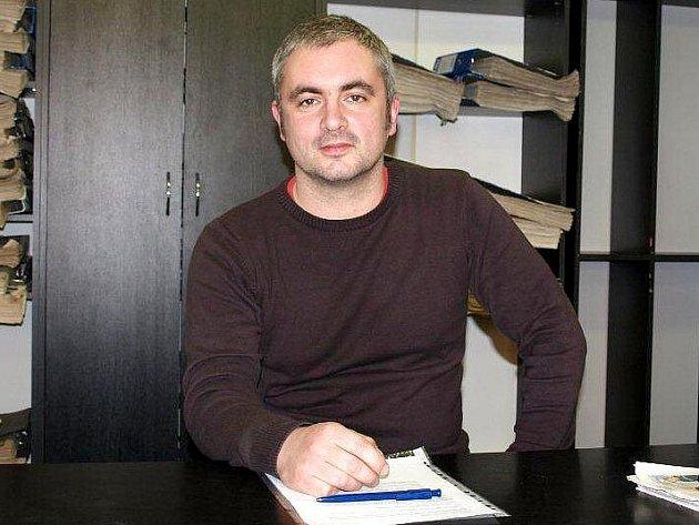 Milan Morava, pracovník Probační a mediační služby (PMS) České republiky v Chebu.