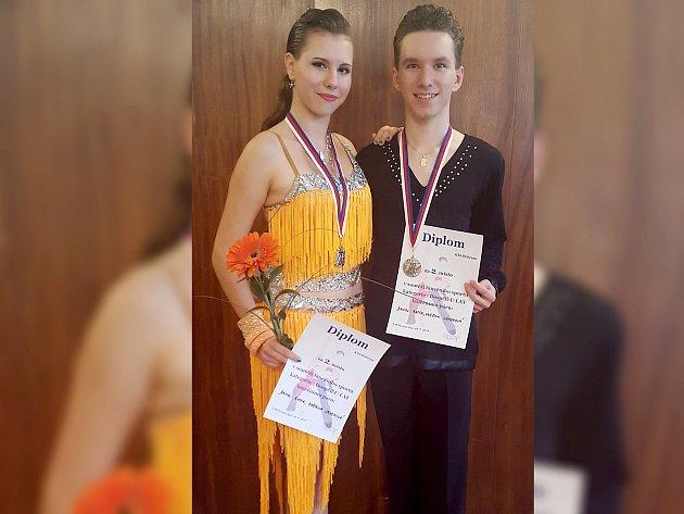 KATEŘINA Janeková a Daniel Raffa.