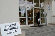 Ve čtvrté františkolázeňském volebním okrsku rozhodně nezažívali nápor voličů.