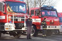 Slavnostní ukázky nové hasičské techniky v Mariánských Lázních