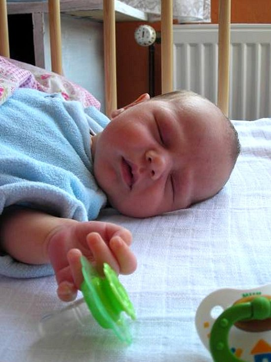 Dne l7. dubna  v   9,55 hodin se narodil  Olze Vorlíčkové a Kamilu Václavíkovi  druhý syn  Antonín. Toníček vážil 3010g a měřil 47 cm. Velkou  radost z něho má jeho bráška  Kamil Václavík.