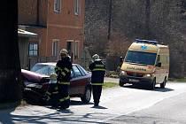 Dopravní nehoda v Hradišti u Chebu