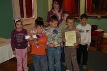 Ve výtvarné soutěži, kterou připravilo Muzeum Cheb, excelovaly také děti s očními vadami.