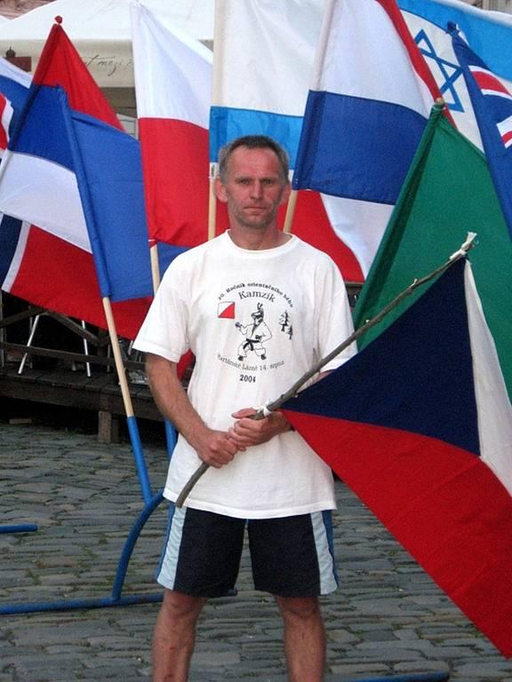 Josef Milota z Mariánských Lázních si dobře vedl na šestidenních mezinárodních závodech Orienteering Festival v Olomouci.