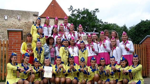Chebské Diskomažoretky uspěly na národním mistrovství