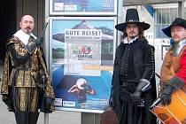 Vévoda z Valdštejna propagoval město Chebu na veletrhu cestovního ruchu v německém Essenu