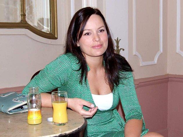 Herečka Jitka Čvančarová
