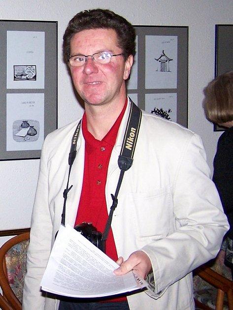 Umělecký fotograf a kurátor mariánskolázeňské galerie Atrium David Kurc