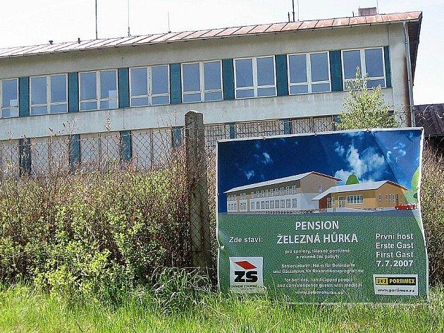 Už letos má přivítat první klienty bývalá rota Pohraniční stráže v Mýtině u Lipové.
