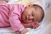 KLAUDIE JANUŠKOVÁ si poprvé prohlédla svět v chebské porodnici v sobotu 8. prosince ve 20.28 hodin. Při narození vážila 3 190 gramů. Doma v Šemnici se z malé Klaudinky raduje sestřička Miriam spolu s maminkou Kateřinou a tatínkem Martinem.