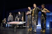 Othello v chebském divadle.