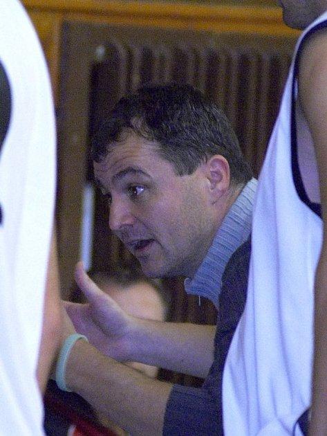 Václav Hadaš, hrající trenér basketbalistů Jiskry Aš