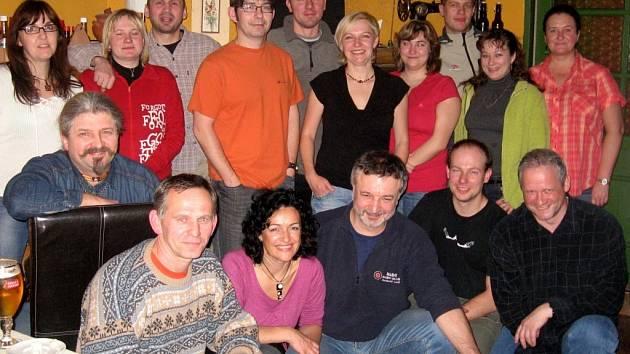Výroční schůze judistů
