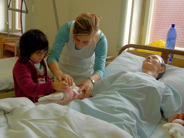 Studentky zdravotnických škol se chtějí věnovat raději dalšímu studiu