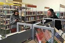 Jan Ámos Komenský v chebské knihovně.