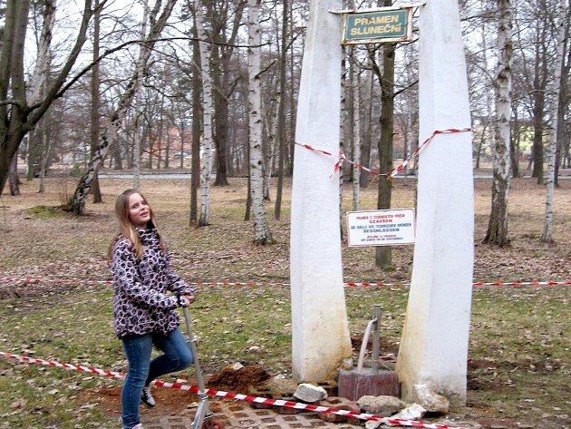 PONIČENÝ Sluneční pramen ve Františkových Lázních by měl být opět přístupný.