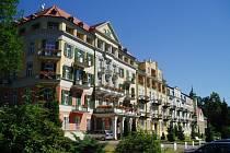 Lázeňský hotel Pawlik Františkovy Lázně.