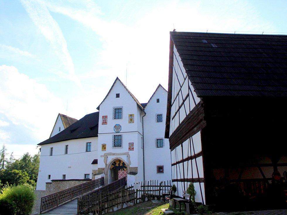 Hrad Seeberg je v regionu velmi navštěvovaný.