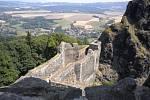 Ze zříceniny hradu Trosky.