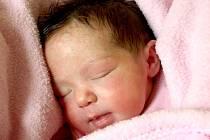 MIA MARŠÍČKOVÁ se poprvé rozkřičela v pátek 21. září ve 13.20 hodin. Na svět přišla s váhou 3 260 gramů a mírou 51 centimetrů. Doma v Okrouhlé se těší z malé Mii maminka Pavlína spolu s tatínkem Josefem.