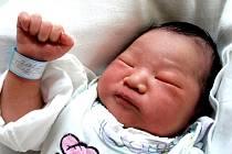 TONY FIKLÉK se poprvé rozkřičel ve středu 9. března v 5.25 hodin. Na svět přišel s váhou 3320 gramů a mírou 51 centimetrů. Sestřička Lenička, maminka Muoi a tatínek Roman se těší z malého Tonyho doma v Chebu.