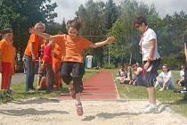 Olympijské kruhy, slavnostní nástup i svou hymnu a motto mají Letní sportovní hry základních škol speciálních, které se uskutečnily v Mariánských Lázních.