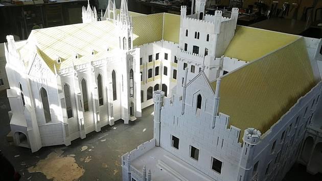 Model lednického zámku bude k vidění v Mariánských Lázních.