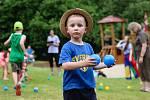 Spoustu zábavy si v sobotu užily děti na hřišti v Hraničné u Pomezí nad Ohří.