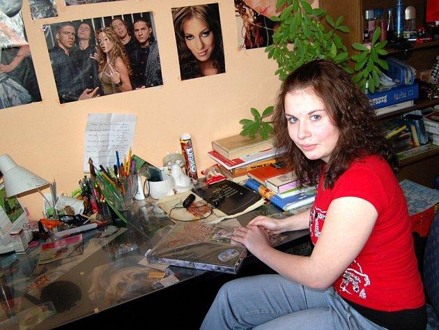 KATEŘINA MÁLKOVÁ se v roce 1992 narodila jako první miminko v kraji.
