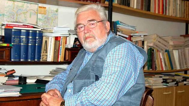 Chebský historik Václav Jiřík
