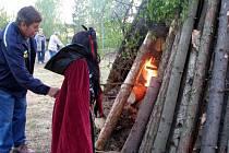 Pálení čarodějnic ve Skalné
